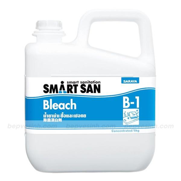 Dung dịch tẩy trắng và sát khuẩn gốc Chlorine B1