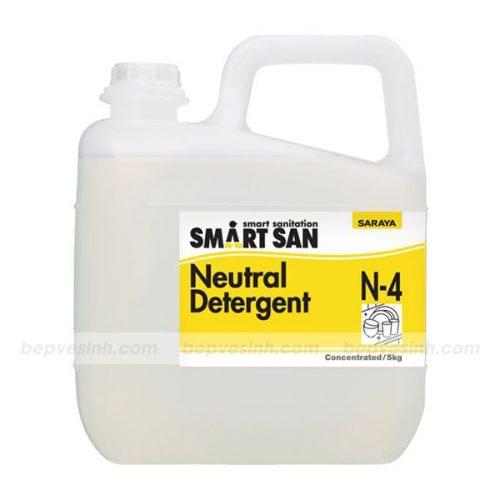 Dung dịch tẩy rửa trung tính Neutral Detergent N-4