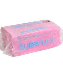 Khăn Không Dệt Kuraflex Counter Cloth ZNA-511-100PW, Màu Hồng