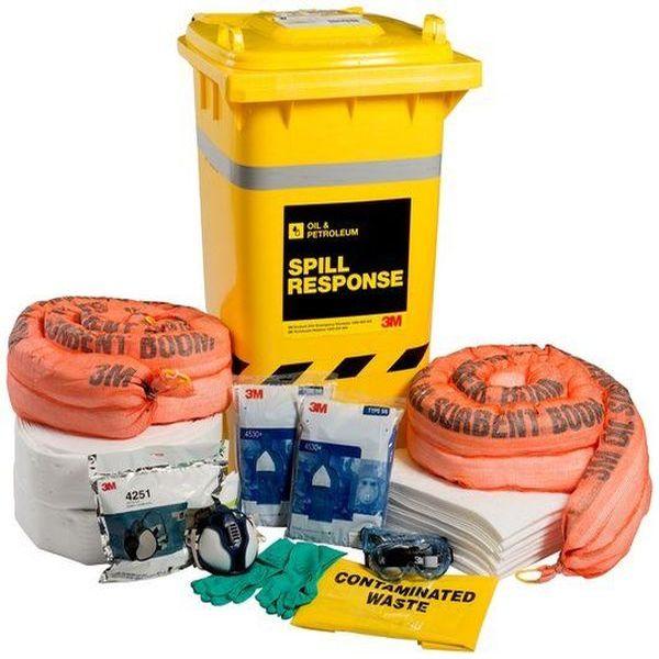 Bộ Ứng Cứu Sự Cố 3M™ Oil & Petroleum Spill Kit-OSRK-190