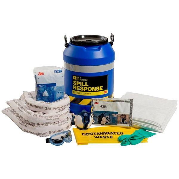 Bộ Ứng Cứu Sự Cố 3M™ Oil & Petroleum Spill Kit-OSRK-45