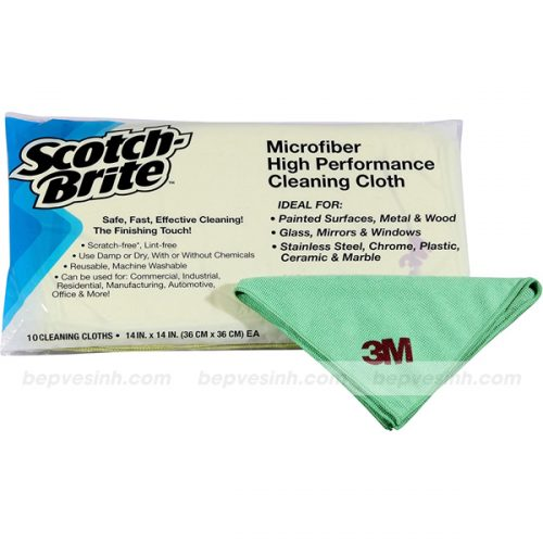 Khăn Microfiber Scotch-Brite™ High Performance SQ21